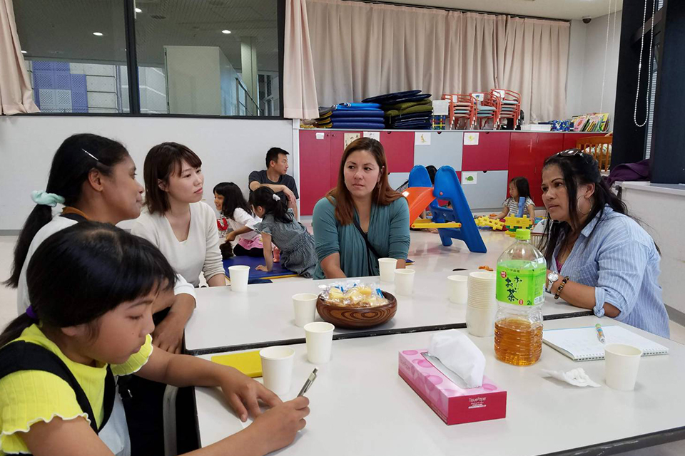 ギャラリー1:[毎週日曜日(月1回] 外国にルーツのある親子の集い